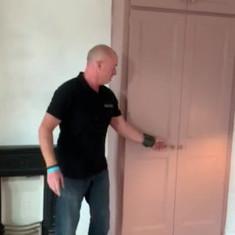 Shaker style (split doors) Georgian panel wardrobes