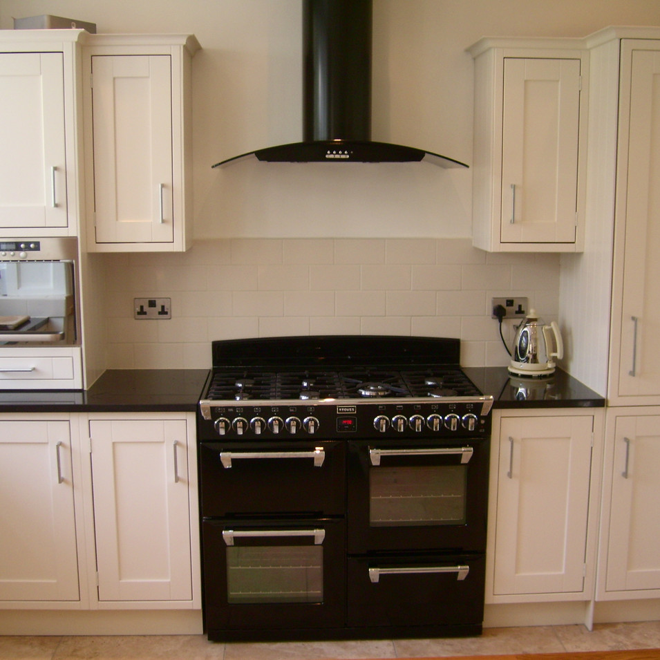Hand Painted Bespoke Kitchen