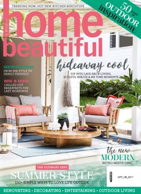 Hampton project featured in Home Beautiful Magazine