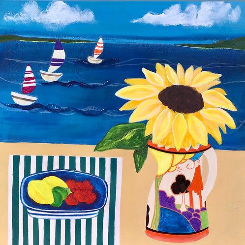 Clarice and Sunflower