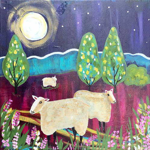 No Time to Sleep - Just Counting Sheep