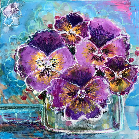 Purple Pansy Party