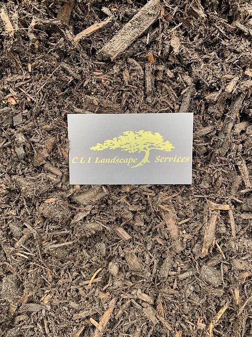 Bulk Double Ground Hardwood Mulch - cu. yd.