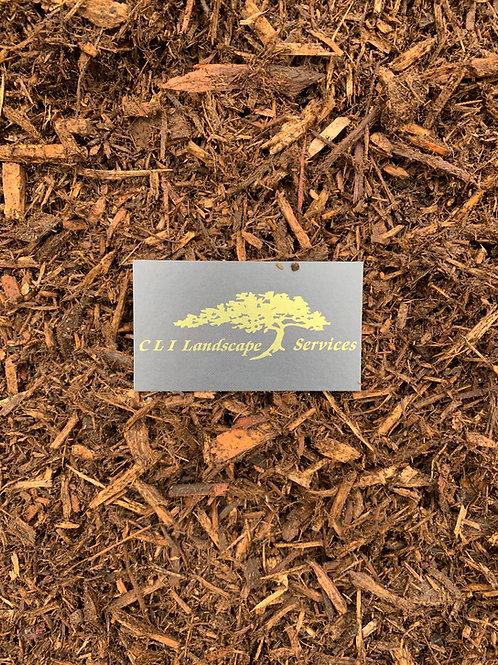 Bulk Triple Ground Natural Cedar Mulch cu. yd.