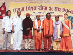 Swami Shivalingam, World Yoga Festival