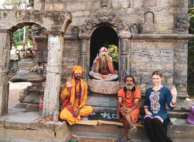 Pashupathinath Mandir, Shiva temple, Nepal