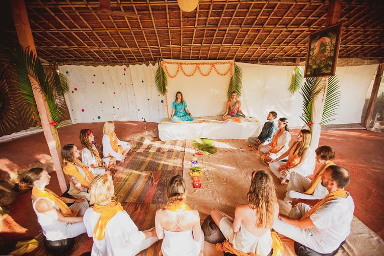 Graduating Class, Tantra Yoga TTC 2019 Goa