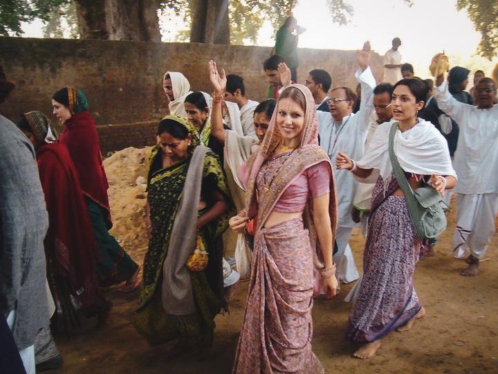 Vrindavan 2011 Parikrama Festival Day