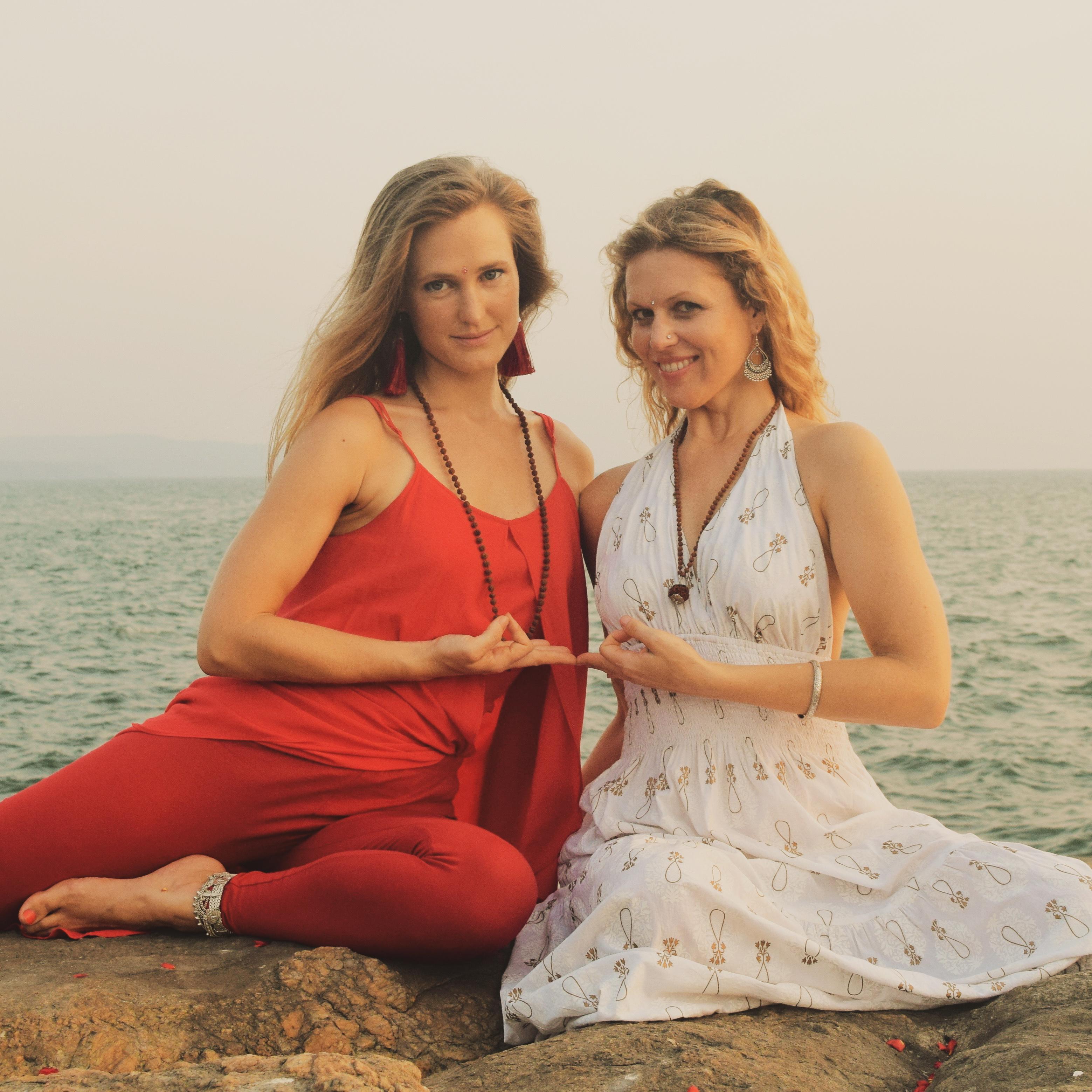 Kamadevi and Gopika in Goa
