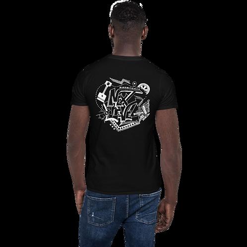 Next Level Black T-shirt (back)