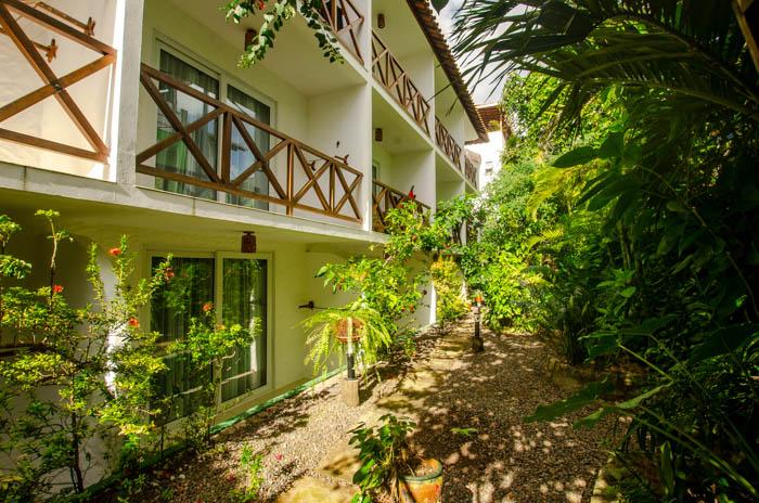 Garden - Borboleta Hotel - Morro