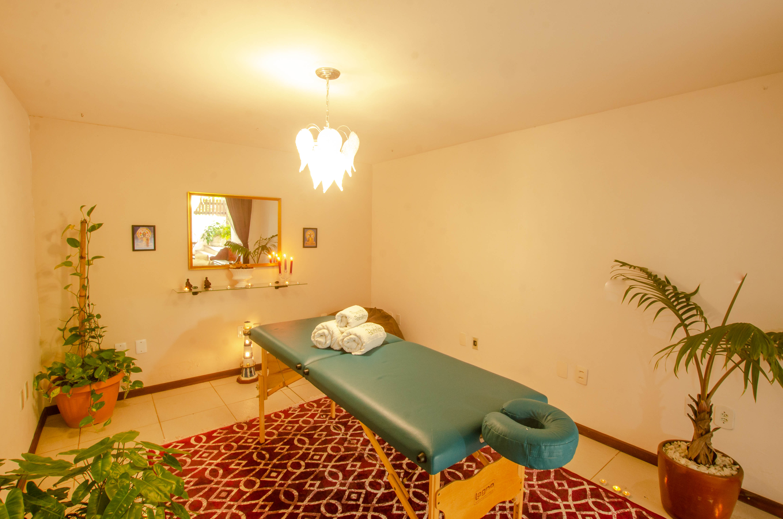 Sala de massagem - Pousada Borboleta