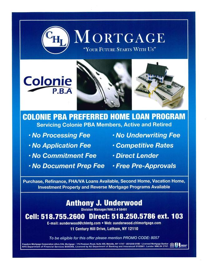 Colonie PBA Preferred Mortgages