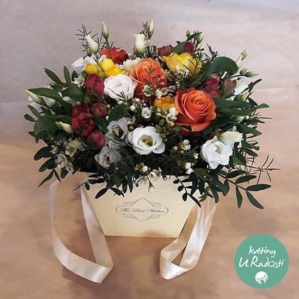 Květinový box plných barev