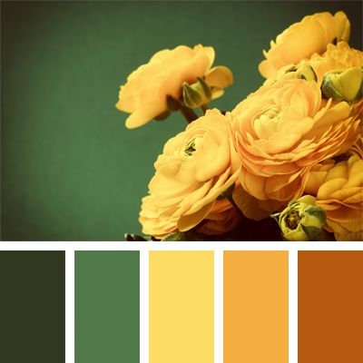 Kytice ve žlutých odstínech