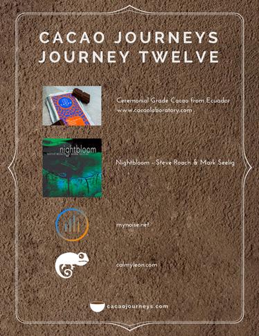Journey Twelve - December 2017