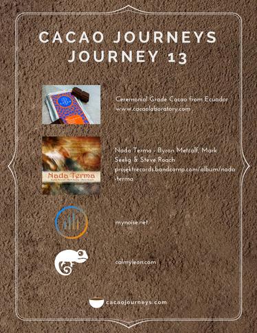 Journey 13 - January 2018
