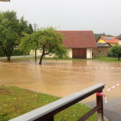 Unwettereinsatz 27.07.2019 Löschgebiet Berndorf