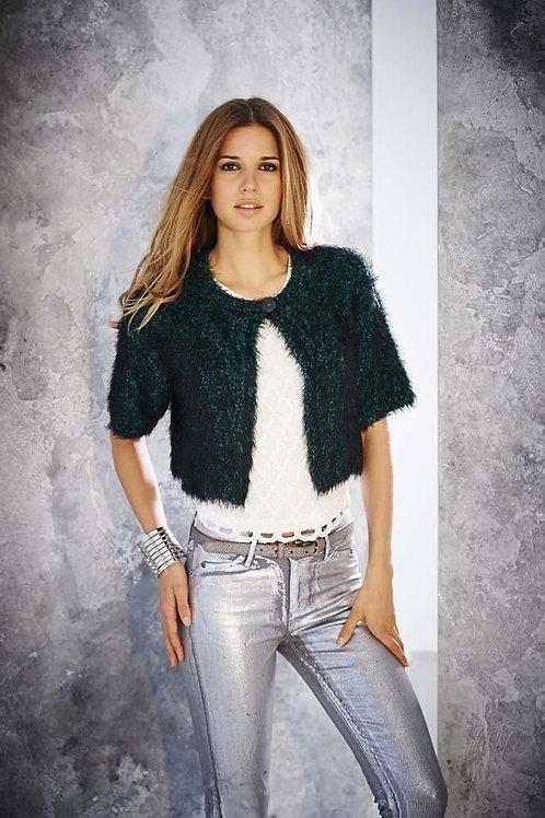 Stylecraft Eskimo Kisses 9049 - Ladies Cropped Jacket in 2 designs