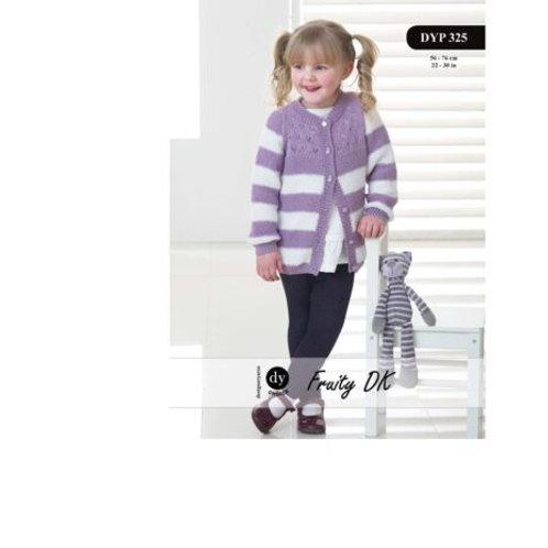 DYP325 Child's Cardigan (Fruity DK)