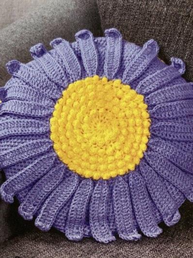 Twilleys of Stamford Crochet Aster Flower Cushion Kit