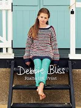 Rialto DK Prints by Debbie Bliss