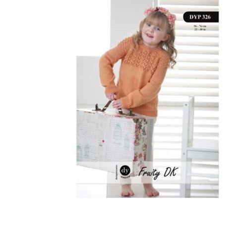 DYP326 Child's Jumper (Fruity DK)