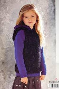 Stylecraft Eskimo KIsses 9055 - 2 Children's Sweaters