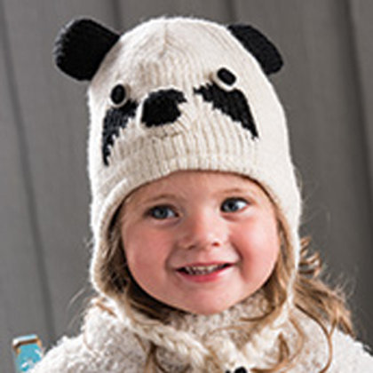Children's Panda Hat - Fair Trade