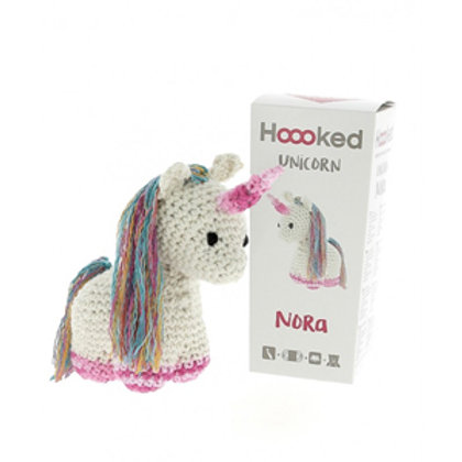 Hoooked Crochet Kit: Nora the Unicorn
