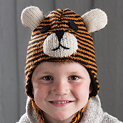 Children's Tiger Hat - Fair trade