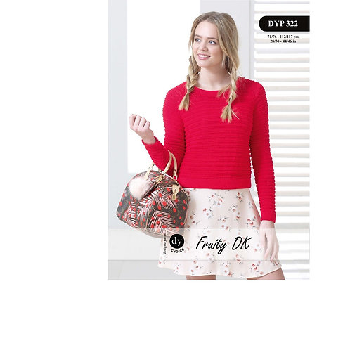 DYP322 Ladies Sweater (Fruity DK)