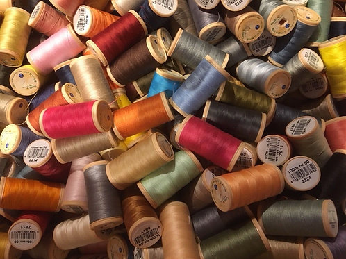 25 Cotton Threads - Mixed Shades