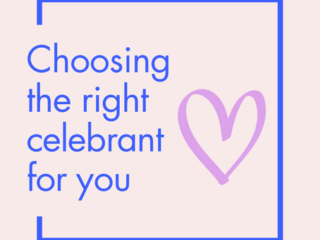 Choosing The Right Celebrant For Your Wedding Day
