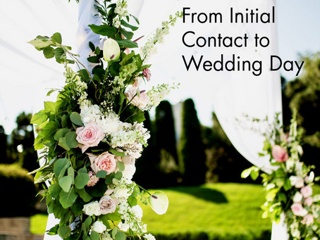 Celebrant: From Initial Contact to Wedding Day