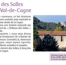 Château des Salles - Dépliant Office du Tourisme de Cagnes Sur Mer