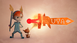 Ruya Game Art and Logo