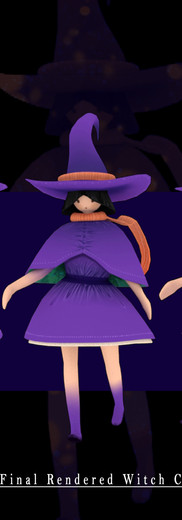 ThornHeart Witch 3D Concept Model