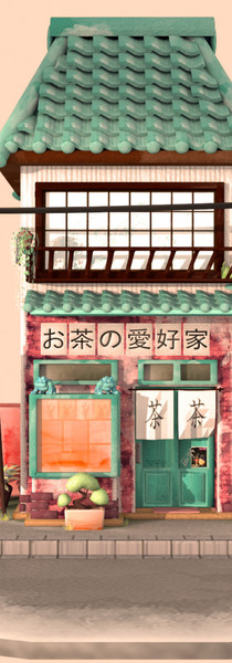 Final 3D Japanese Tea Shop