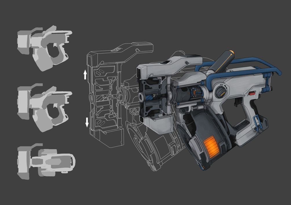 Final Grapple Gun Concept