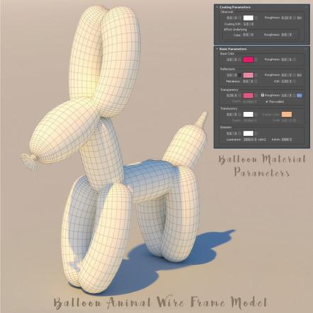 3D Baloon Animal Development