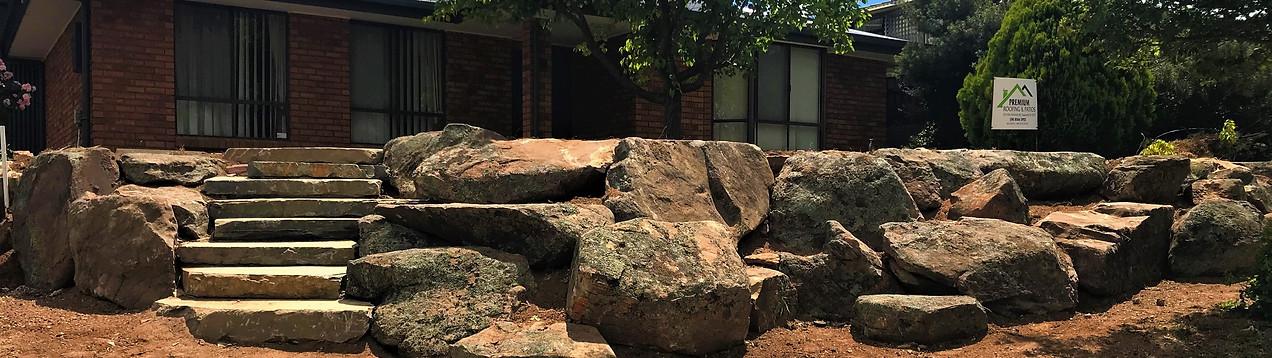 MOSS ROCKS & BLUESTONE STEPS
