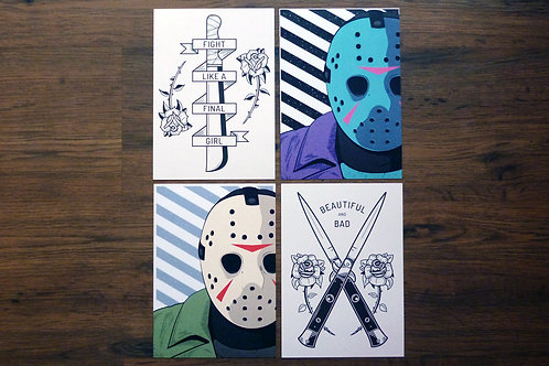 Horror print bundle