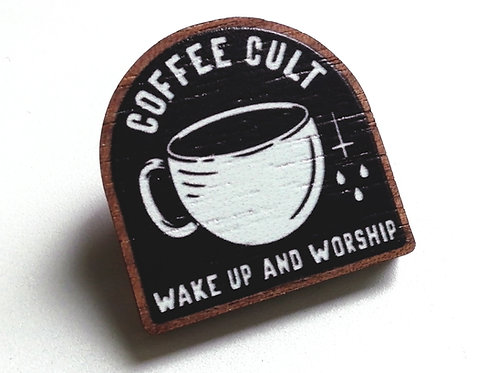 Coffee Cult - Pin badge