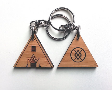 The Temple - Keyring