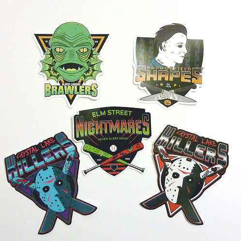 Killer Teams sticker pack