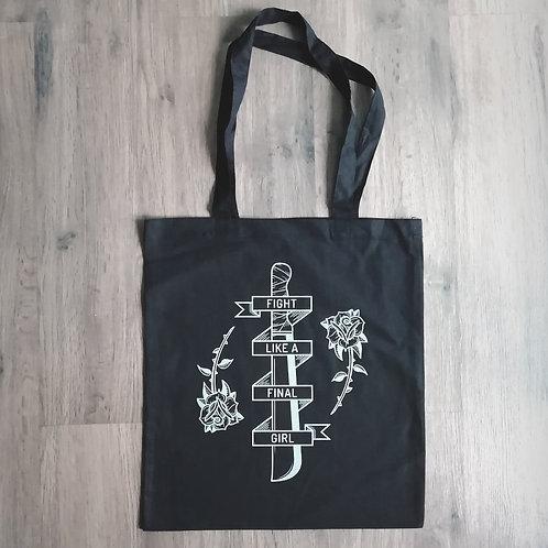 Final Girl tote bag