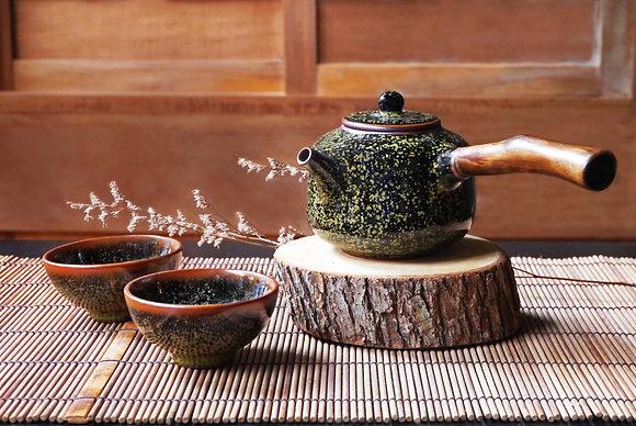 柿子壺茶具組(壺+2杯)