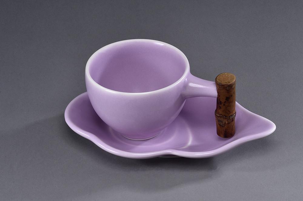 雲朵咖-釉色:粉紫