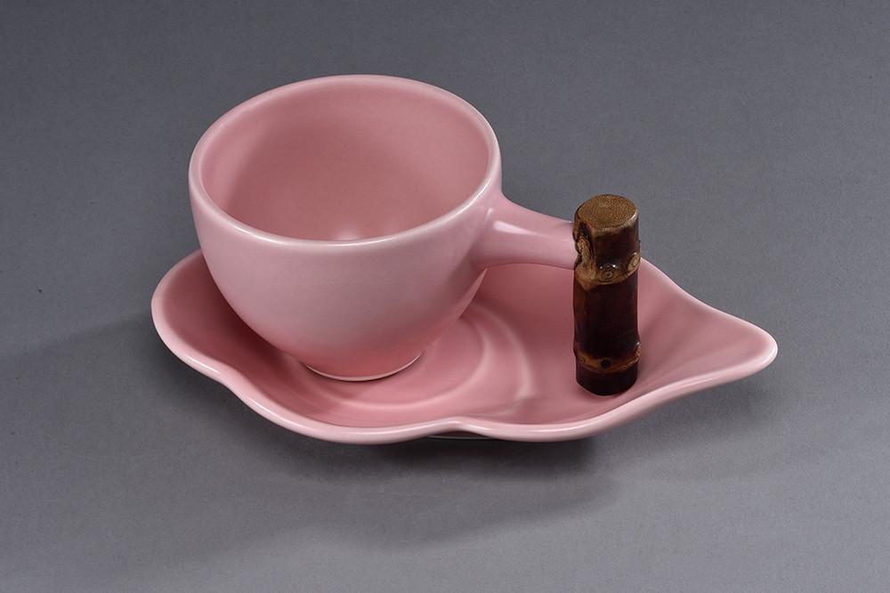 雲朵咖-釉色:粉色